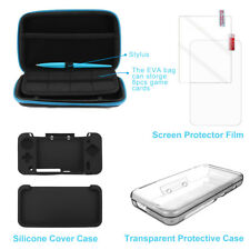 EVA Carrying Bag +Stylus Pen+Protector Film+Protective Case for New 2DSLL AC861