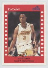 1990 ProCards CBA #150 Keith Smith Albany Patroons (CBA) Rookie Basketball Card