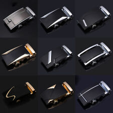 Real Genuine Leather Automatic Buckle Men's Fashion Waist Strap Belt Waistband