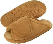 Ciabatta's Men's After Surgery Adjustable Strap Shearling Lined House Shoe