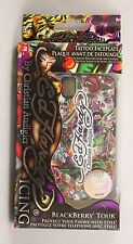Ed Hardy Logo Cover for Blackberry Storm 2 9550 / Tour 9630 Case + Protector