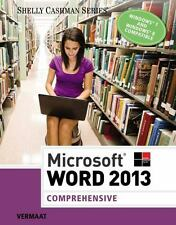 Microsoft Word 2013 Comprehensive Shelly Cashman Series By Vermaat Misty E