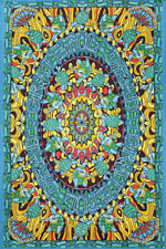 Grateful Dead Terrapin Dance Tapestry Tablecloth Curtain Wall Art - 2 Sizes