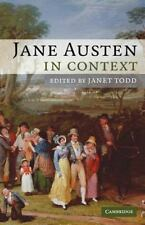Jane Austen in Context (Literature in Context) by