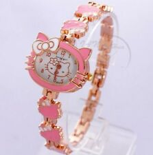 New Lovely Hello kitty Ladies Wrist Watch Quartz Fashion Gift  With Retail Box