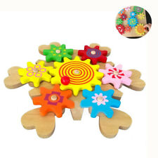 Magic Spin Moving Cog Gears 3D Building Blocks Funny Educational Toys DIY