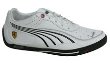 Puma SL Street SF Ferrari Lace Up Mens White Synthetic Trainers 303468 02 D100