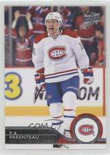 2014-15 Upper Deck #352 PA Parenteau Montreal Canadiens P.A. Hockey Card