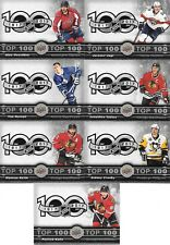 U PICK EM LOT 17-18 2017-18 Tim Hortons Top 100 Checklist Set Cards #TOP1-7