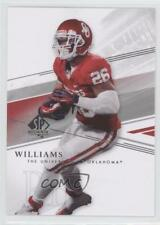 2014 SP Authentic #78 Damien Williams Oklahoma Sooners Rookie Football Card