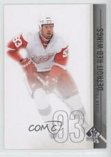 2010-11 SP Authentic #47 Johan Franzen Detroit Red Wings Hockey Card