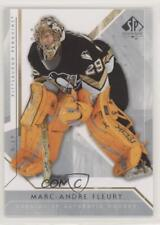 2006-07 SP Authentic #21 Marc-Andre Fleury Pittsburgh Penguins Hockey Card