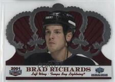 2001 Pacific Crown Royale Calder Collection All-Star Game C-6 Brad Richards Card