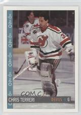 1992-93 O-Pee-Chee #282 Chris Terreri New Jersey Devils Hockey Card