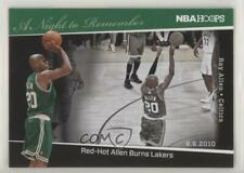 2011-12 NBA Hoops A Night to Remember 9 Ray Allen Boston Celtics Basketball Card