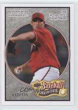 2008 Upper Deck Baseball Heroes Charcoal #1 Brandon Webb Arizona Diamondbacks