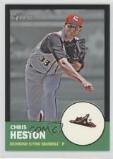 2012 Topps Heritage Minor League Edition Black Border #148 Chris Heston Card