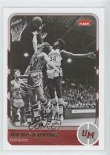 2011-12 Fleer Retro #25 Julius Erving Massachusetts Minutemen Basketball Card