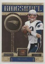 2011 Crown Royale Kings of the NFL #9 Tom Brady New England Patriots Card