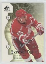 1999 SP Authentic Special Forces SF4 Steve Yzerman Detroit Red Wings Hockey Card