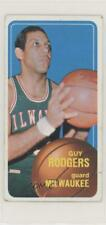 1970-71 Topps #22 Guy Rodgers Milwaukee Bucks Basketball Card