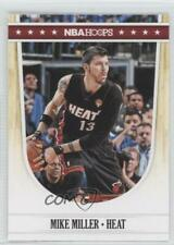 2011-12 NBA Hoops #120 Mike Miller Miami Heat Basketball Card