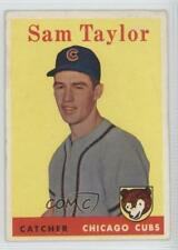 1958 Topps #281 Sammy Taylor Chicago Cubs RC Rookie Baseball Card