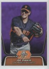 2012 Bowman Platinum Prospects Retail Purple Refractor #BPP32 Joe Panik Card
