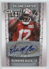 2011 SAGE Hit Autographs Silver #A2 Delone Carter Auto Autographed Football Card
