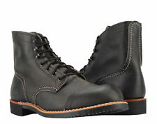 Red Wing Heritage 8086 Iron Ranger 6-Inch Cap Toe Charcoal Men's Boots 08086