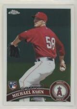2011 Topps Chrome #208 Michael Kohn Los Angeles Angels RC Rookie Baseball Card