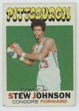 1971 Topps #159 Stew Johnson Pittsburgh Condors (ABA) RC Rookie Basketball Card