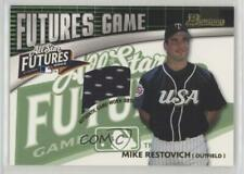 2003 Bowman Futures Game Gear #FG-MR Michael Restovich Minnesota Twins Card