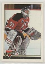1993-94 Topps Premier Gold #213 Chris Terreri New Jersey Devils Hockey Card