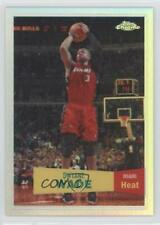 2007-08 Topps Chrome 1957-58 Variations Refractor #3 Dwyane Wade Miami Heat Card