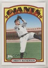2010 Topps Vintage Legends Collection #VLC11 Christy Mathewson New York Giants