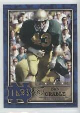 2003 2003-07 TK Legacy Notre Dame #M22 Bob Crable Fighting Irish Football Card