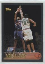 1996 Topps Foil NBA 50 #161 Marcus Camby Toronto Raptors Rookie Basketball Card