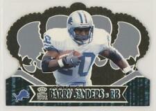 2000 Pacific Crown Royale #35 Barry Sanders Detroit Lions Football Card