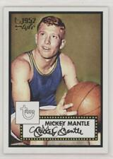 2005-06 Topps 1952 Style #7 Mickey Mantle Basketball Card