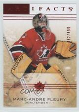 2014-15 Upper Deck Artifacts Ruby #102 Legends Marc-Andre Fleury Hockey Card