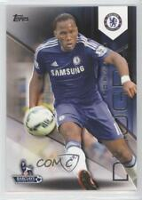 2014 Topps Premier Gold #32 Didier Drogba Chelsea FC Rookie Soccer Card
