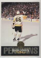 1993-94 Leaf Collection #10 Mario Lemieux Pittsburgh Penguins Hockey Card