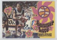 2002 Fleer Ultra WNBA Summer of Love 6SL Dawn Staley Charlotte Sting (WNBA) Card
