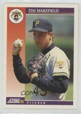 1992 Score Rookie & Traded #92T Tim Wakefield Pittsburgh Pirates Baseball Card