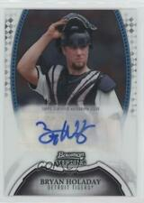 2011 Bowman Sterling MLB Future Stars Autographs BSP-BHO Bryan Holaday Auto Card