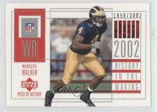 2002 Upper Deck Piece Of History #120 Marquise Walker Michigan Wolverines Card