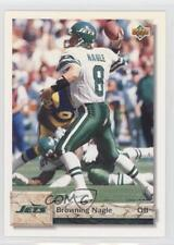 1992 Upper Deck #596 Browning Nagle New York Jets Football Card