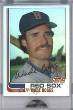 2007 eTopps Cards That Never Were #134T Wade Boggs Boston Red Sox Baseball Card