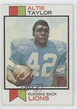 1973 Topps #448 Altie Taylor Detroit Lions Football Card